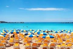 Het Strand van Amadores Gran Canaria, Canarische Eilanden, Spanje stock foto's
