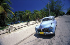 HET STRAND VAN AMERIKA CUBA VARADERO Stock Foto's
