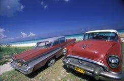 HET STRAND VAN AMERIKA CUBA VARADERO Royalty-vrije Stock Foto's