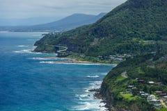 Het strand van Australië Wollongong Stock Fotografie