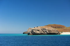 Het strand van Bajacalifornië Royalty-vrije Stock Foto