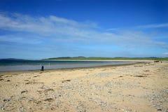 Het Strand van Ballyliffin stock foto's