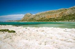 Het strand van Balos Royalty-vrije Stock Afbeelding