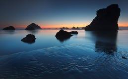 Het strand van Bandon Stock Afbeeldingen
