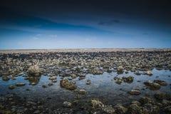 Het Strand van Batuhitam stock afbeeldingen