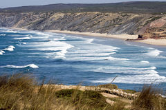 Het strand van Bodeira stock fotografie