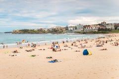 Het Strand van Bondi, Sydney Stock Afbeelding