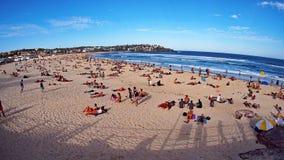 Het strand van Bondi, Sydney, Australië Stock Foto