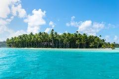 Het strand van Bora van Bora Royalty-vrije Stock Afbeeldingen