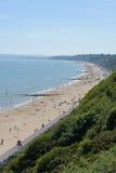 Het Strand van Bournemouth Royalty-vrije Stock Foto's
