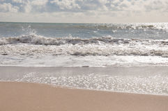 Het strand van Bournemouth, Dorset Stock Afbeeldingen