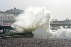 Het strand van Brighton Stock Fotografie