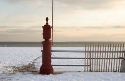 Het strand van Brighton stock afbeeldingen