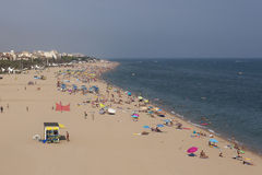 Het strand van Calella Royalty-vrije Stock Fotografie