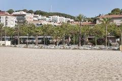 Het strand van Calella Royalty-vrije Stock Foto's