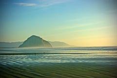 Het strand van Californië stock afbeeldingen