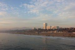 Het strand van Californië royalty-vrije stock foto