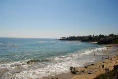 Het strand van Californië Stock Foto