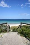 Het Strand van Callala, Australië Royalty-vrije Stock Afbeelding