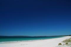 Het strand van Callala bij baai Jervis Royalty-vrije Stock Foto