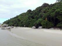 Het strand van Camboriubrazilië Royalty-vrije Stock Afbeelding