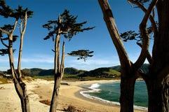 Het Strand van Carmel royalty-vrije stock fotografie