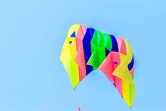 HET STRAND VAN CHA AM - 9 MAART: Internationaal de Vliegerfestival van 15de Thailand Royalty-vrije Stock Foto's