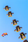 HET STRAND VAN CHA AM - 9 MAART: Internationaal de Vliegerfestival van 15de Thailand Stock Afbeeldingen