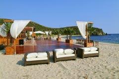 Het strand van Chalkidiki Stock Afbeelding