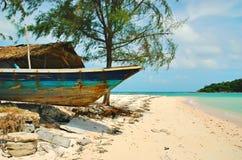Het strand van Chaweng Stock Fotografie