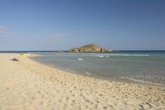 Het strand van Chia Royalty-vrije Stock Fotografie