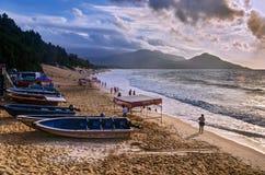 Het Strand van China Shenzhen xi-Chong Stock Afbeeldingen