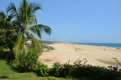Het Strand van Chowara, Kovalam, Kerala, India Royalty-vrije Stock Afbeelding