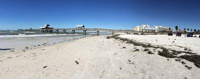 Het Strand van Clearwater Stock Afbeelding