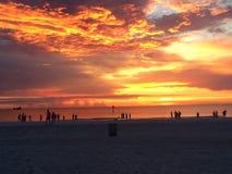 Het Strand van Clearwater Stock Afbeeldingen