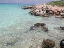Het strand van Cleopatra in Turkije. Stock Afbeelding