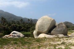 Het strand van Colombia royalty-vrije stock afbeeldingen
