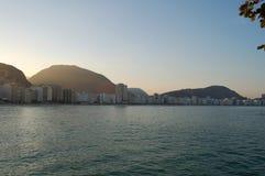 Het strand van Copacabana Royalty-vrije Stock Fotografie