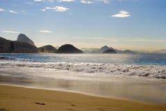 Het Strand van Copacabana Stock Afbeelding