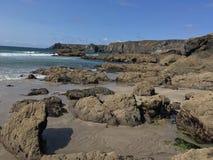 Het Strand van Cornwall royalty-vrije stock foto