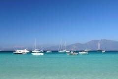 Het strand van Corsica Stock Afbeelding