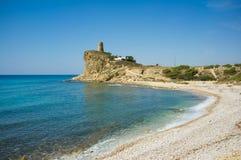 Het strand van Costa Blanca Royalty-vrije Stock Foto's