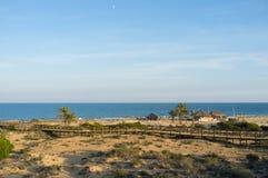 Het strand van Costa Blanca Royalty-vrije Stock Fotografie