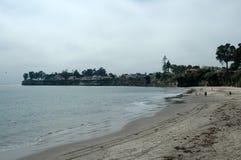 Het Strand van Cruz van de kerstman stock fotografie