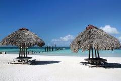 Het strand van Cuba Stock Fotografie