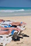 Het strand van Cuba Stock Afbeelding