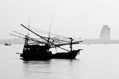 Het Strand van Danang, Vietnam Stock Foto