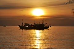 Het Strand van Danang, Vietnam Stock Fotografie