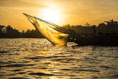 Het Strand van Danang, Vietnam Mekong rivier royalty-vrije stock afbeeldingen