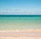 Het strand van de Atlantische Oceaan Royalty-vrije Stock Afbeeldingen